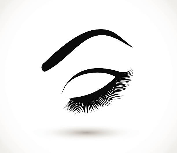 Eyelash Clipart.