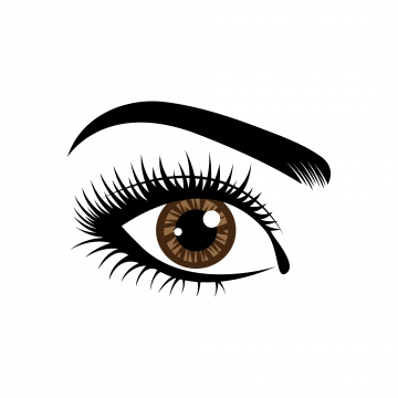 Eyelash Extensions PNG Images.