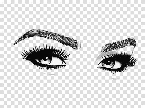 Eyebrow Cosmetics Microblading Eyelash, Eye transparent.