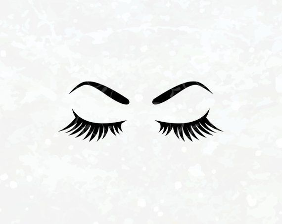 Makeup svg Eyelashes SVG Eyes SVG Eyebrows Lash SVG Brow.