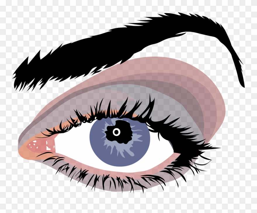Vector Free Stock Eyelash Clipart False.