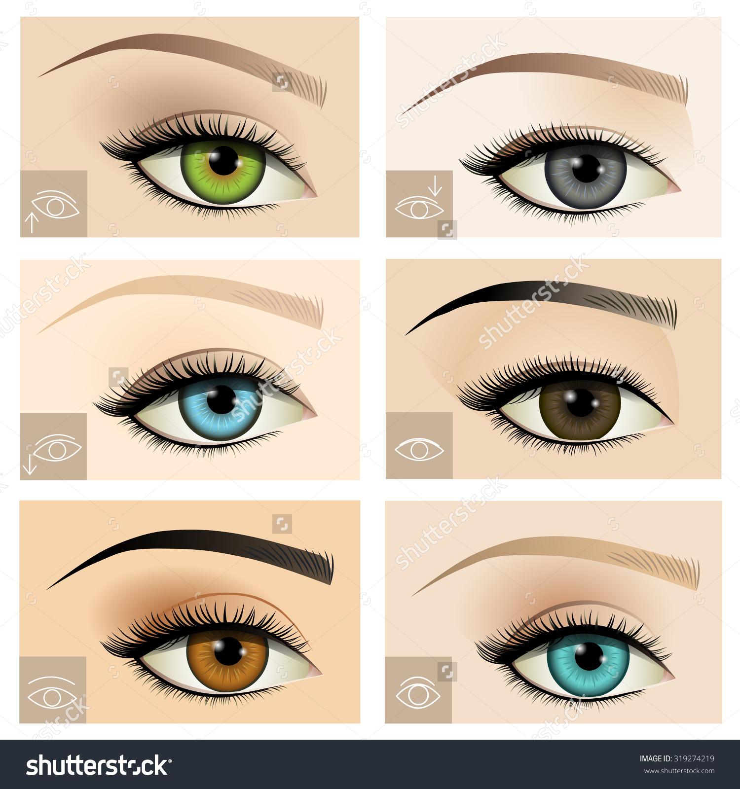 Upturned Eye Makeup Emo Makeup