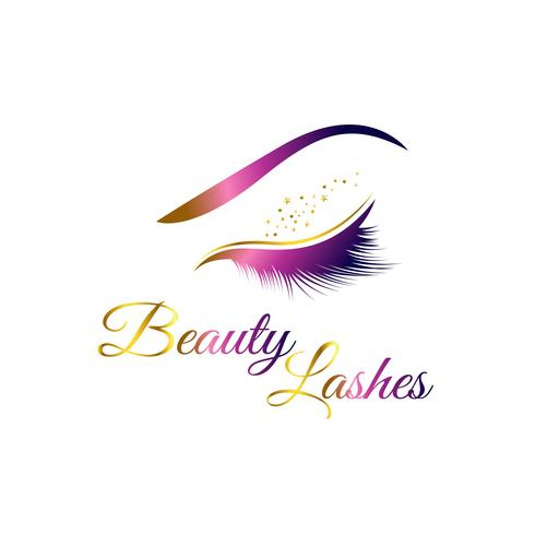 Cosmetic Eyelashes Logo.