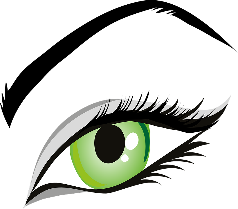 Free vector graphic: Eye, Green Eyes, Iris, Eyelid.