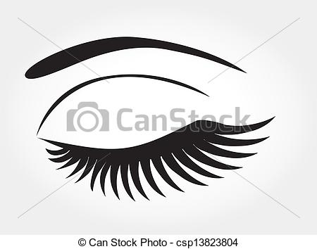 Vector Clipart of eye.