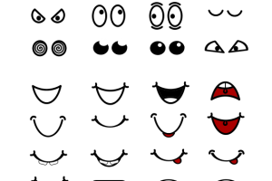 Eyes and mouth clipart 2 » Clipart Station.