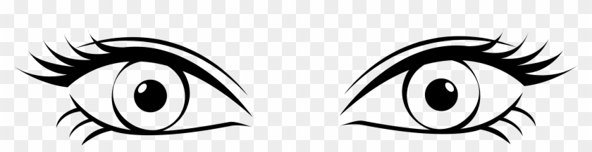 Picture Free Library Two Eyes Clipart Black And White.