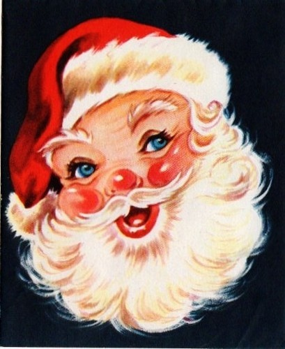 398 best images about Vintage Santa Claus Pictures on Pinterest.