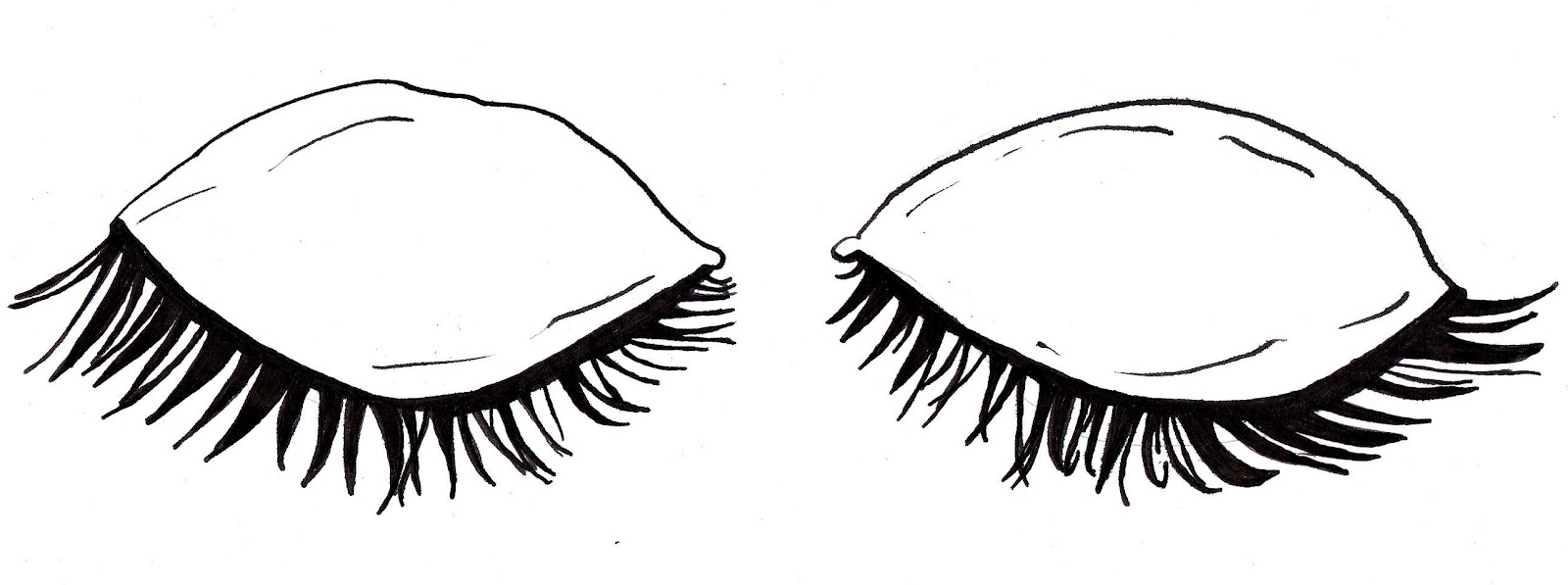Clipart closed eyes.