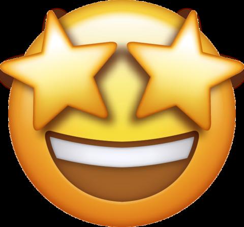 Star Eyes Emoji.