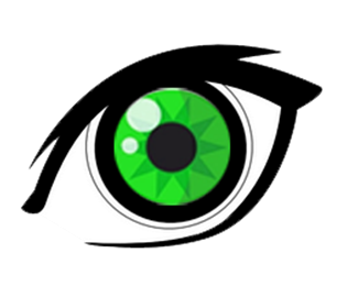 Green eyes Designed by arbolino.