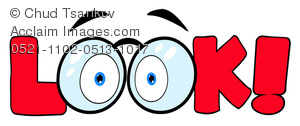 Look Two Eyes Clipart.