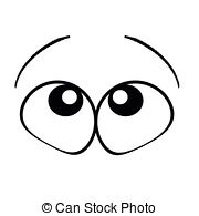 Eyes looking up clipart 2 » Clipart Station.