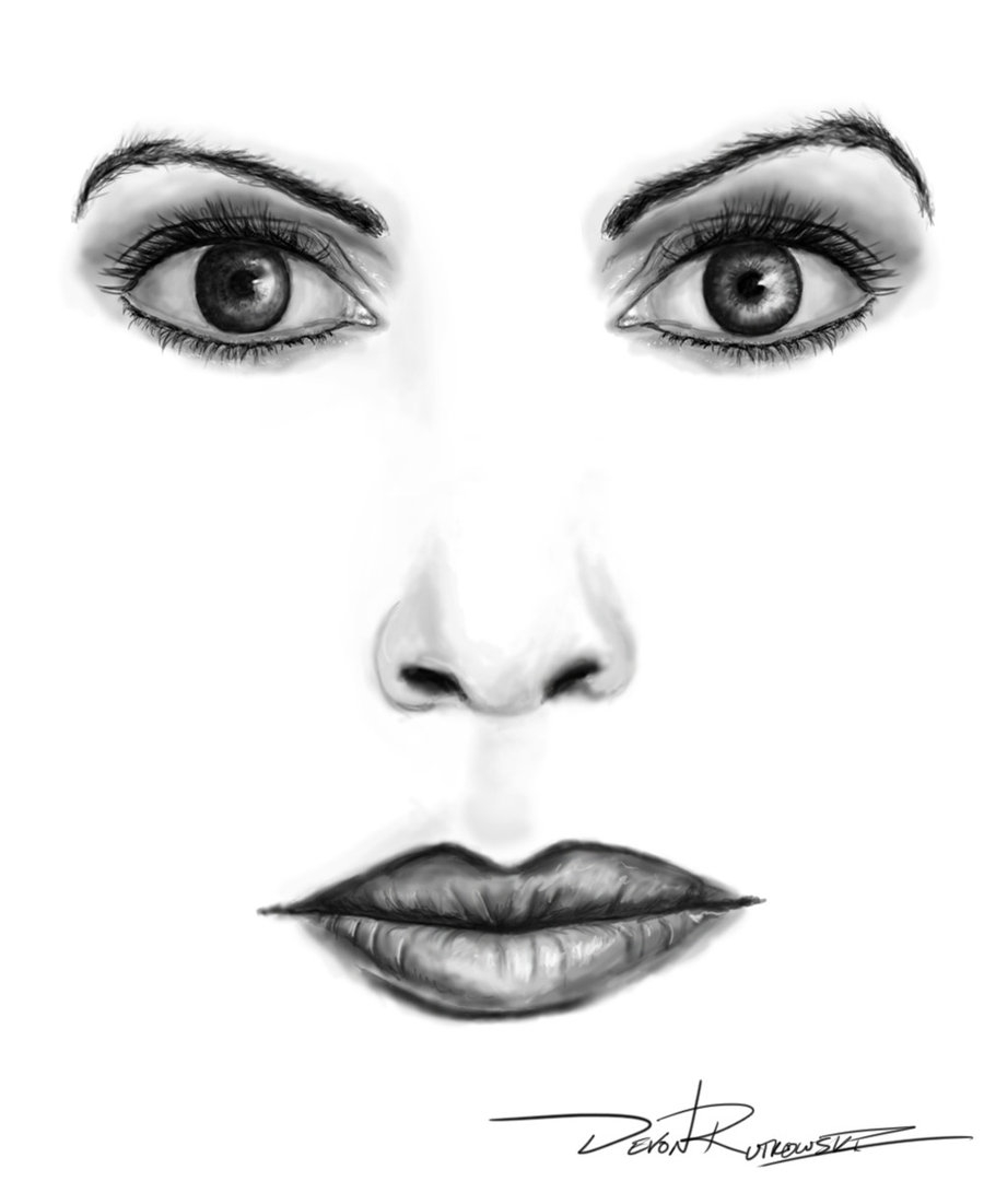 Eyes And Nose Clipart.