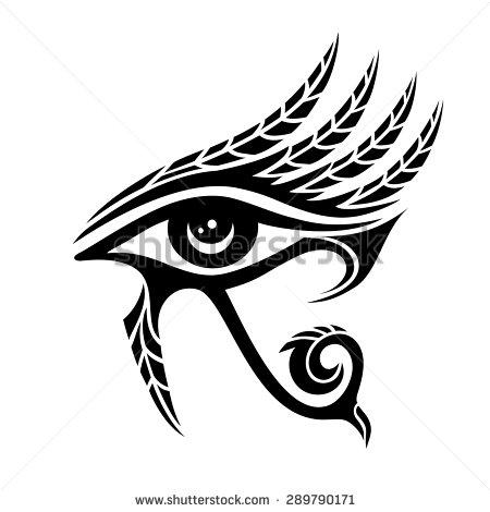 Isis Horus Stock Photos, Royalty.