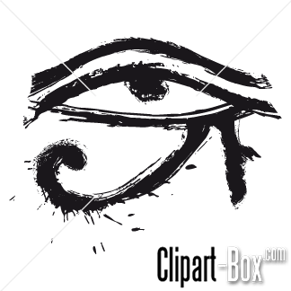 Eye of Ra Clip Art.