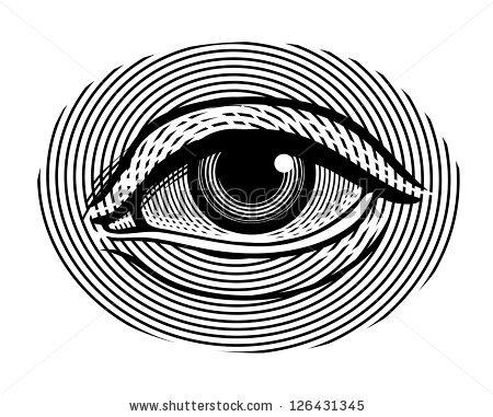 Eye Symbol Stock Images, Royalty.