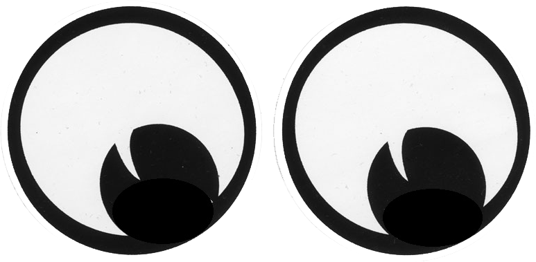 Printable Cat Eye Stencil Template