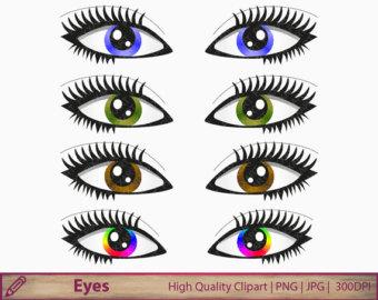 Eyes clip art.
