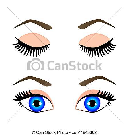 Clip Art Eyes Shut Clipart.