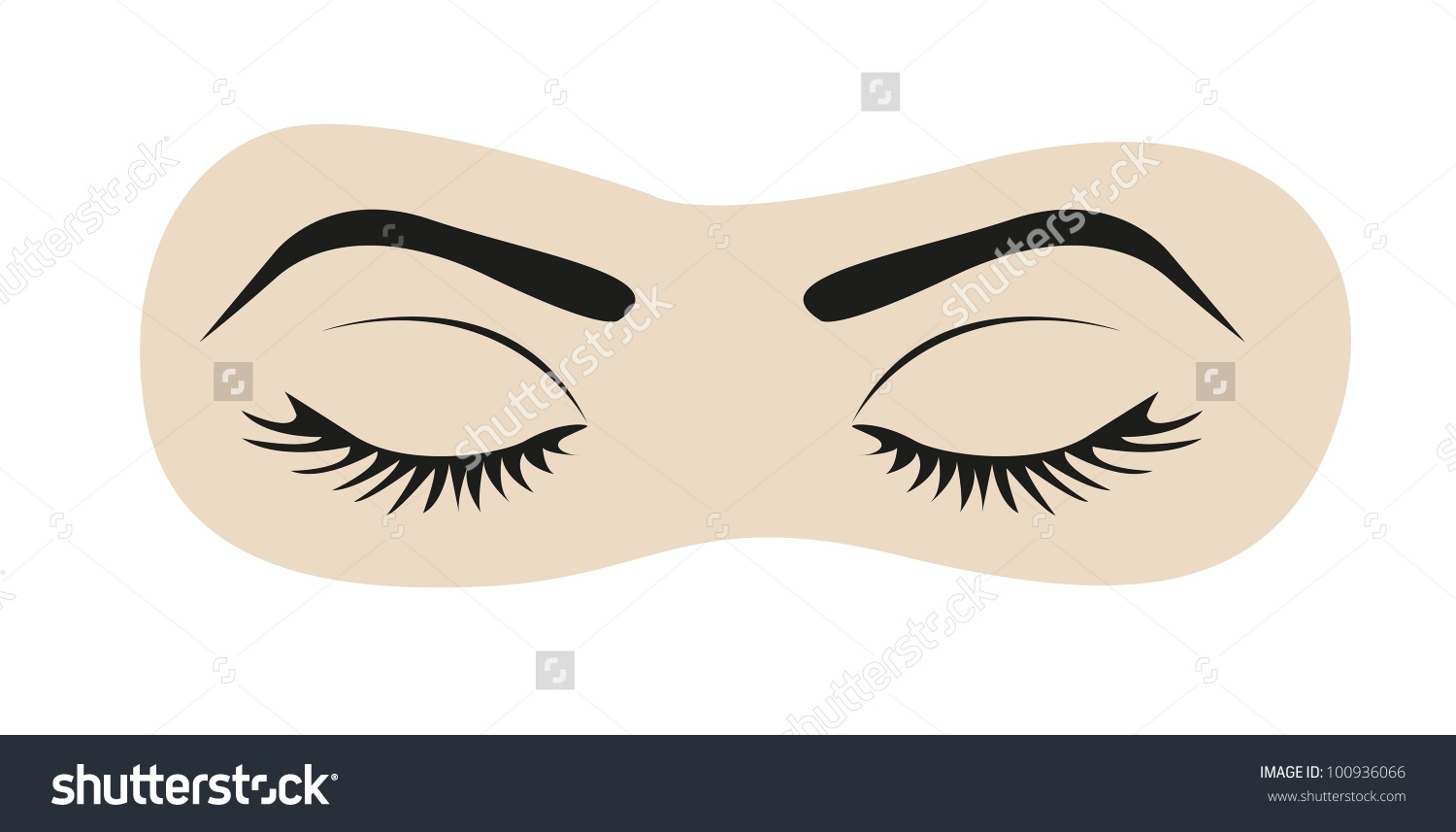 Eyes Shut Clipart.