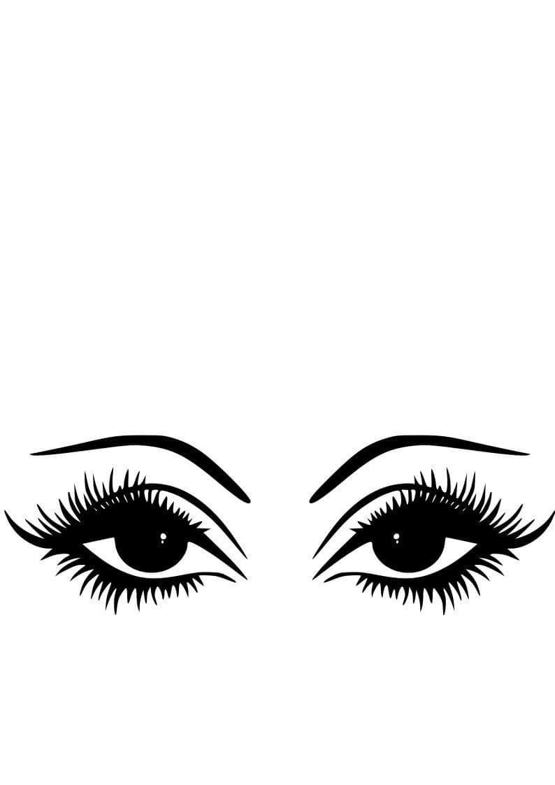 Dramatic Eyes.