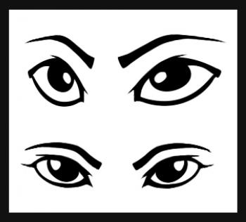 How to Make Asian Eyes, Step by Step, Eyes, People, FREE Online.