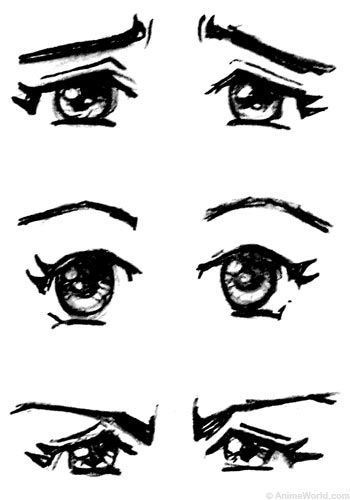105 best images about Drawing Reference: Eyes on Pinterest.