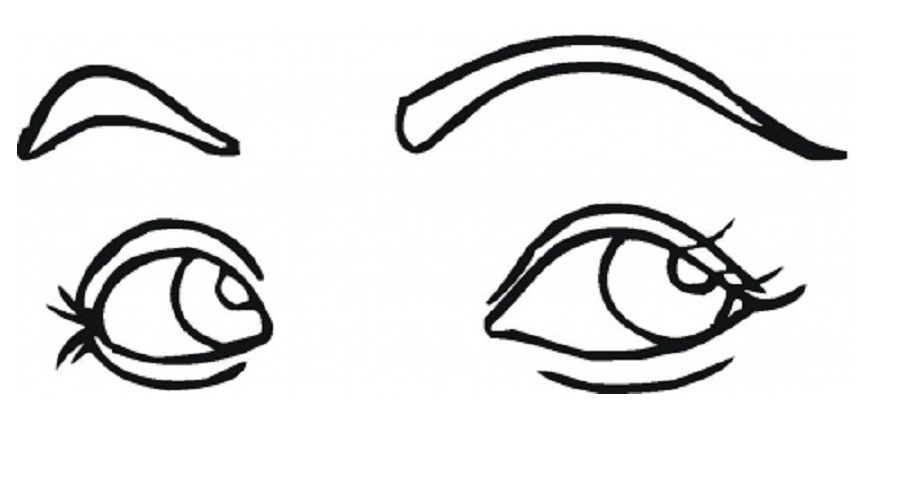 Eyes Wth A Body Clipart Clipground Eye Coloring Pages