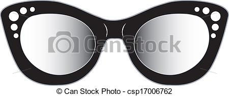 clipart drawing of glasses with eyes #13