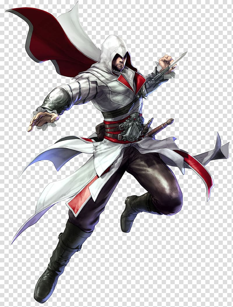 Soulcalibur V Soul Edge Assassin\\\'s Creed II Ezio Auditore.
