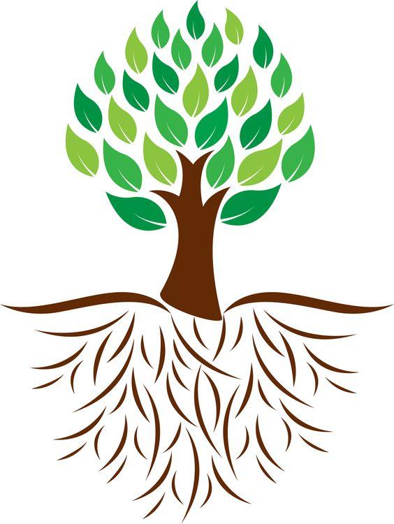 Tree graphic.