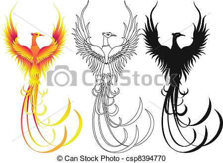 Phoenix Illustrations and Clip Art. 3,111 Phoenix royalty free.