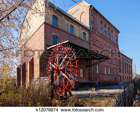Stock Photo of Millhouse, Fuerstenwalde, Germany k12078874.