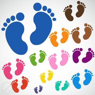 Baby Füße.