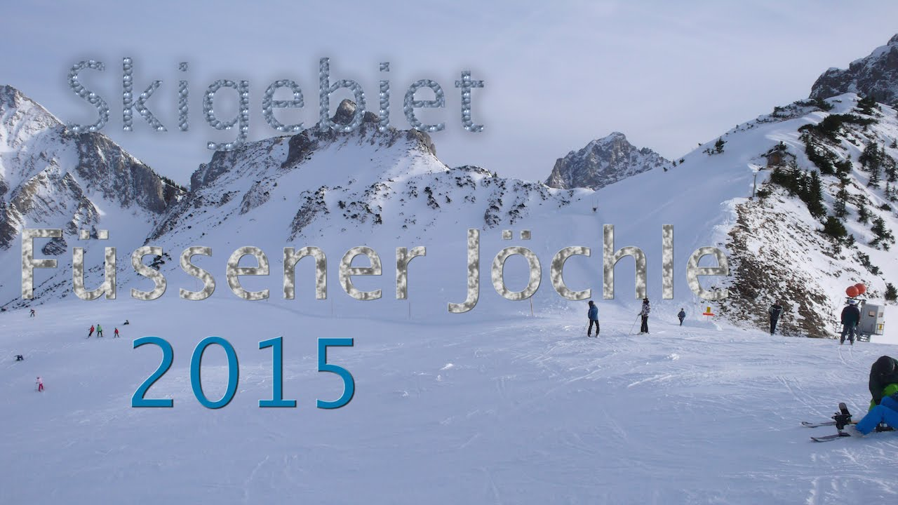 Skigebiet Füssener Jöchle.