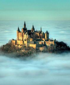 Burg Hohenzollern, near Sttugart, 3hours from Wiesbaden.