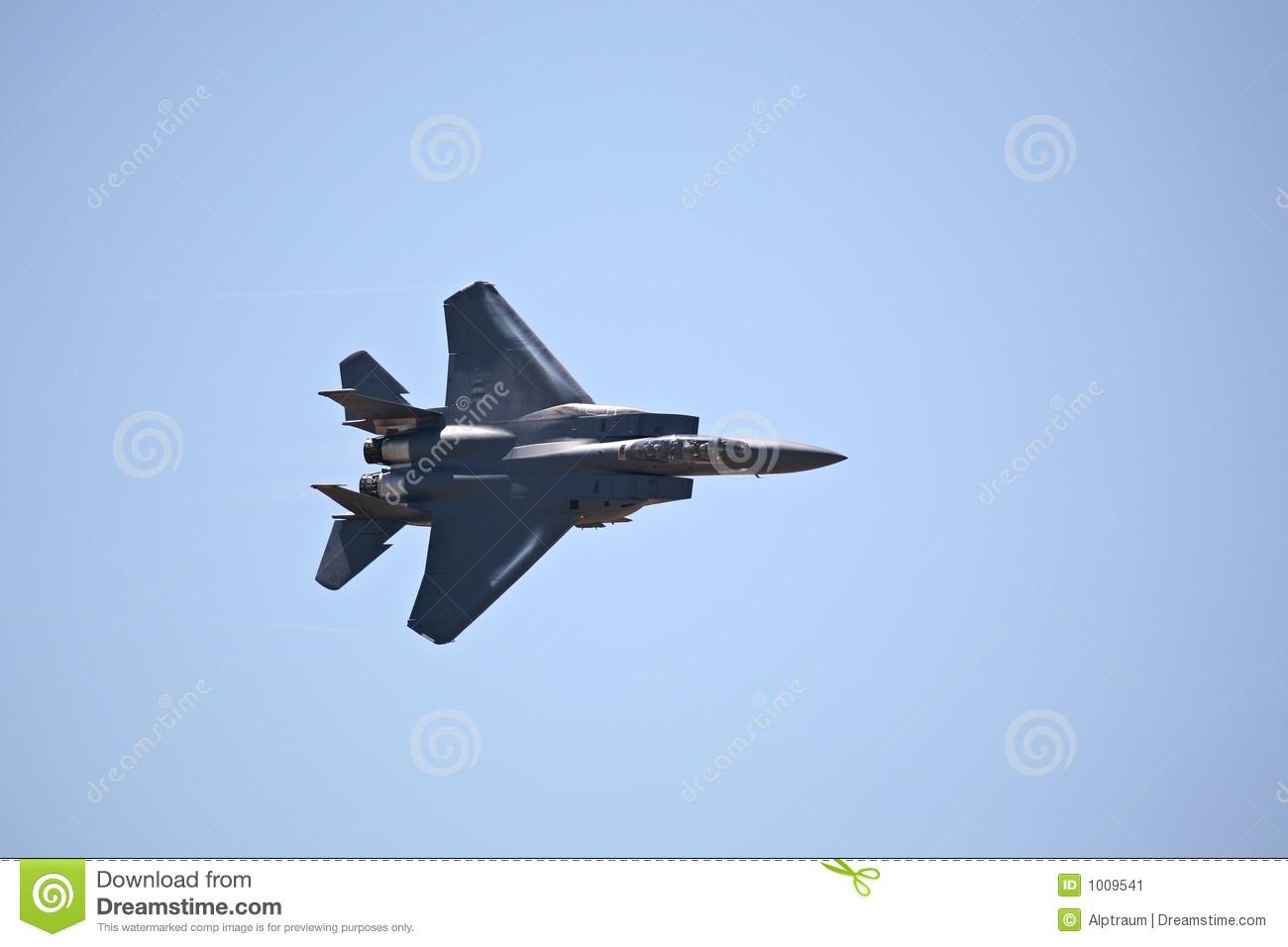 Stock Image F 15 Strike Eagle.