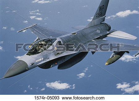 Stock Photo of Aerial view of an F.