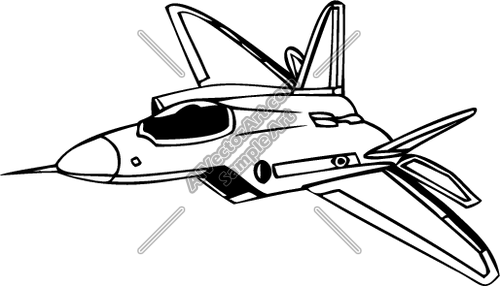 F 22 Raptor Clipart Clipground