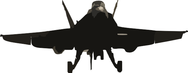 F 18 super hornet clipart.