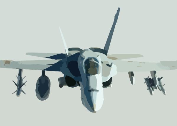 A U.s. Navy F/a.