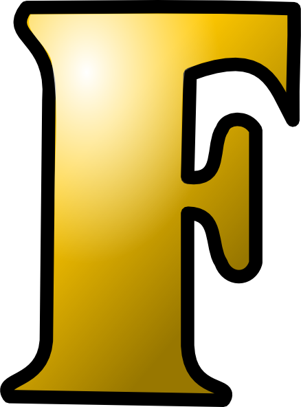Letter F Clipart.