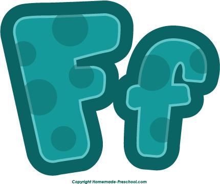Letter f clip art.