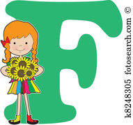 Letter f Clip Art and Illustration. 4,614 letter f clipart vector.