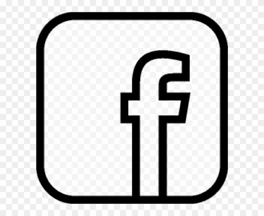 Facebook F Icon, Facebook, F, Like Us Png And Vector.