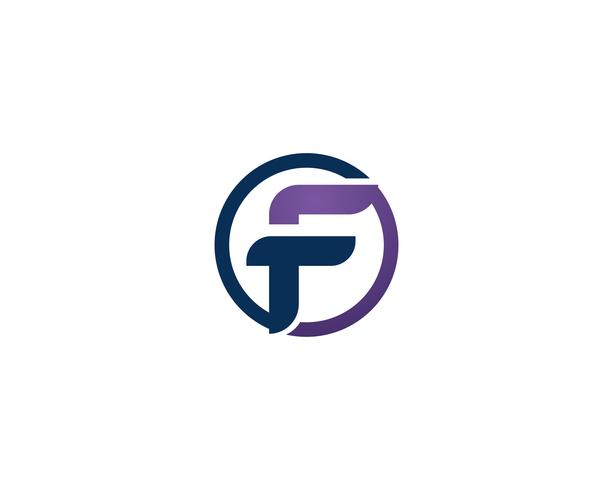 F logo business symbols vector template letter.