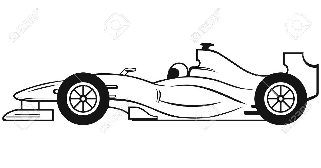 Black race car clipart clipartfest 4.