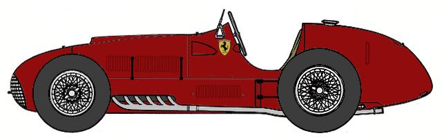 Ferrari f1 clipart hd.