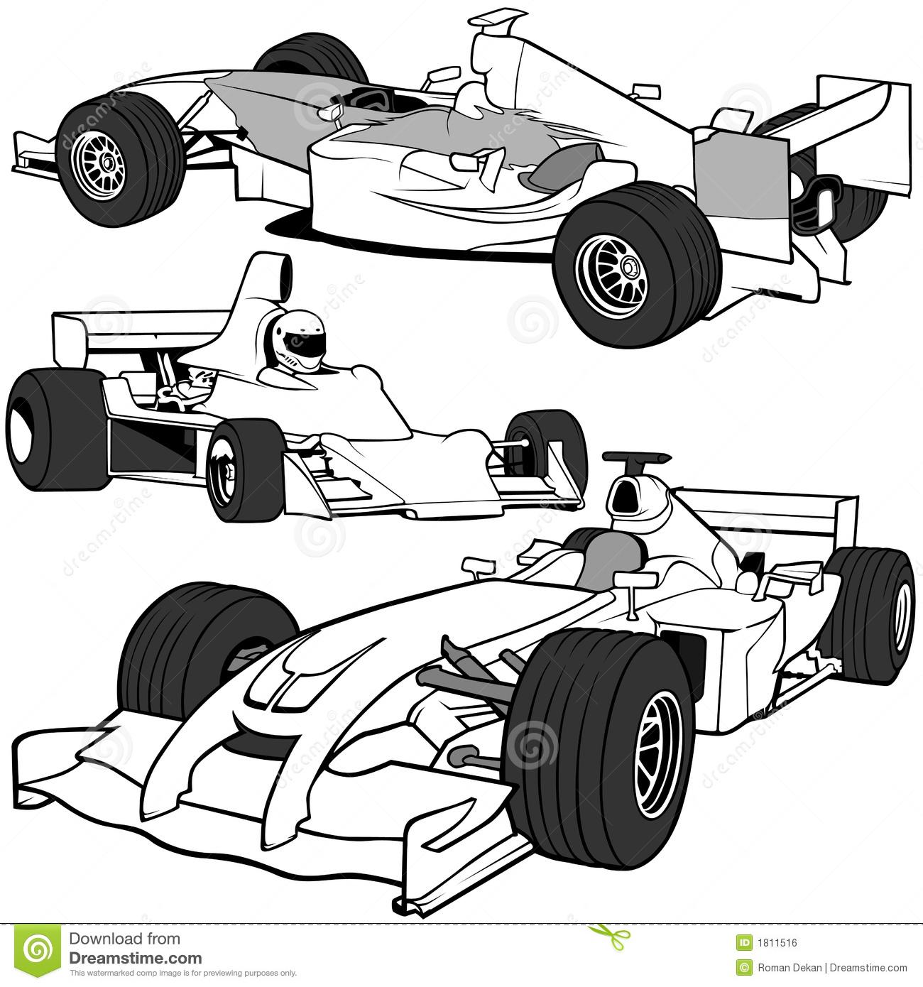 F1 Stock Illustrations.